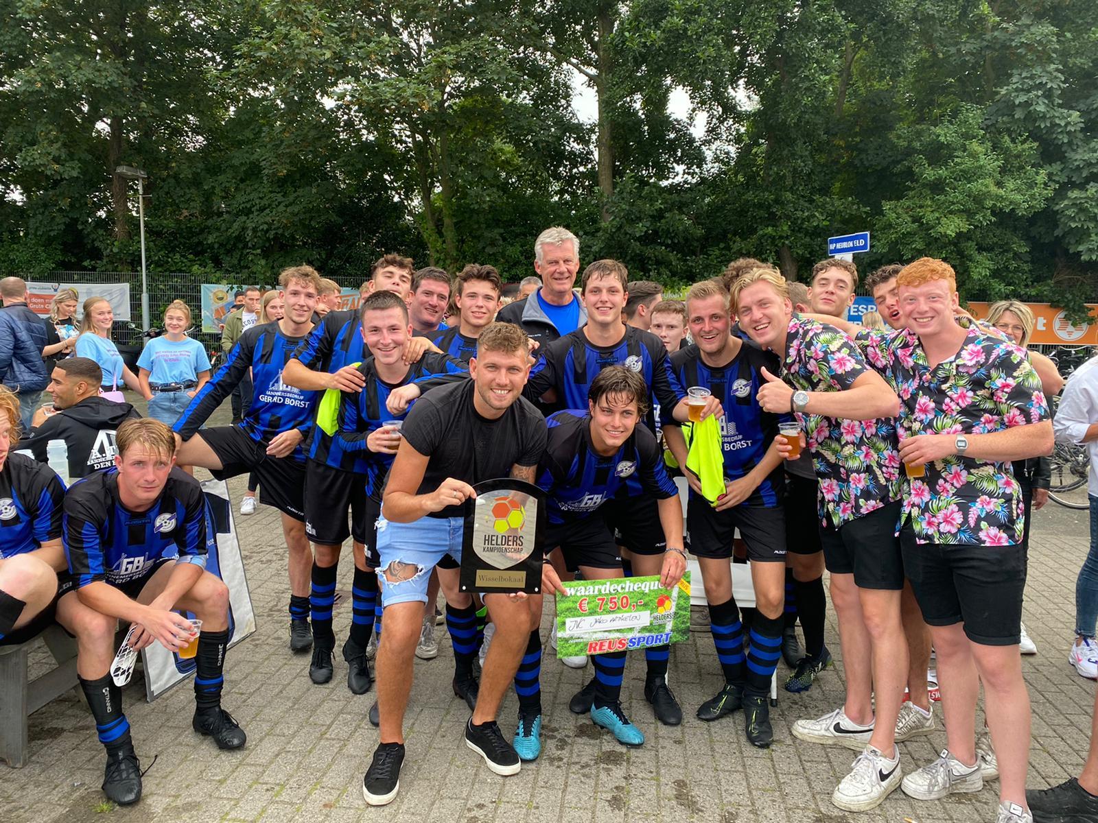 JVC wint Helders Kampioenschap!